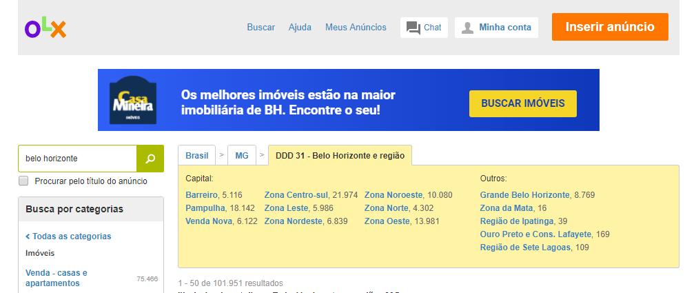 Anúncio de imóveis em Belo Horizonte - OLX