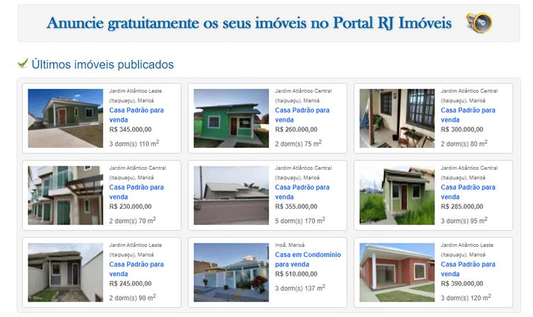 Anunciar Imóveis Grátis - Portal RJ Imóveis