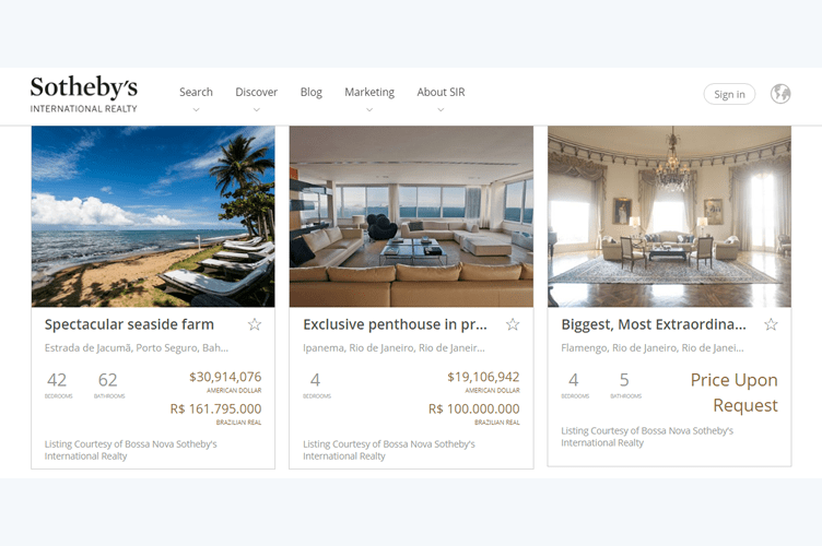 portal de imóveis para que estrangeiros possam comprar imóveis no Brasil