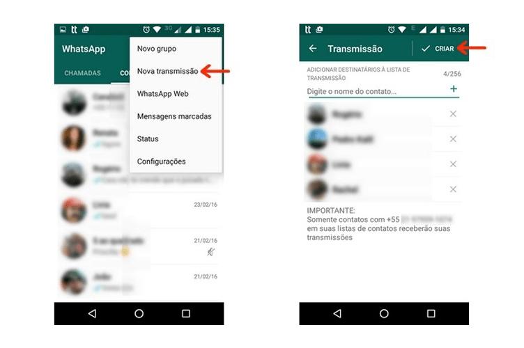 Anunciar Imóveis no Whatsapp - Lista de Transmissão