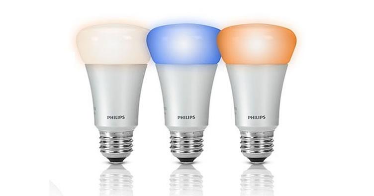 lâmpadas inteligentes da phillips para casas inteligentes