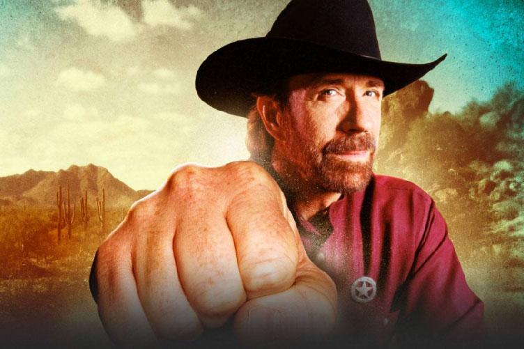 Seja igual o Chuck Norris. Autoridade!
