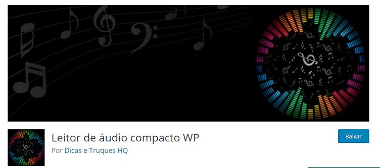Ferramentas para Blog do Corretor de Imóveis - Compact WP Audio Player