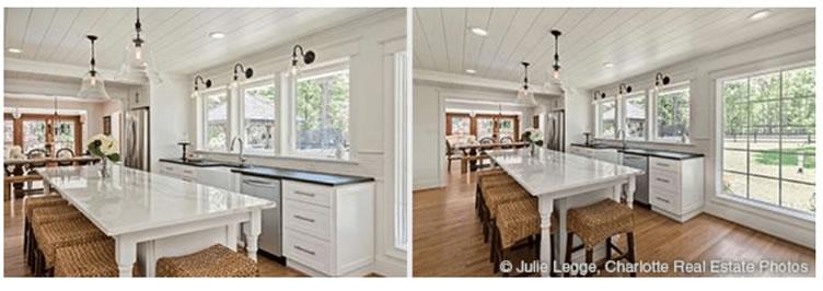 Exemplos de foto de imóveis com maior visão. foto da cozinha.