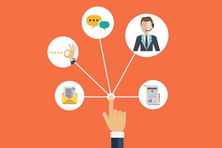 escolher a forma que vai se comunicar com o cliente para manter a eficiência e qualidade no atendimento da imobiliária digital