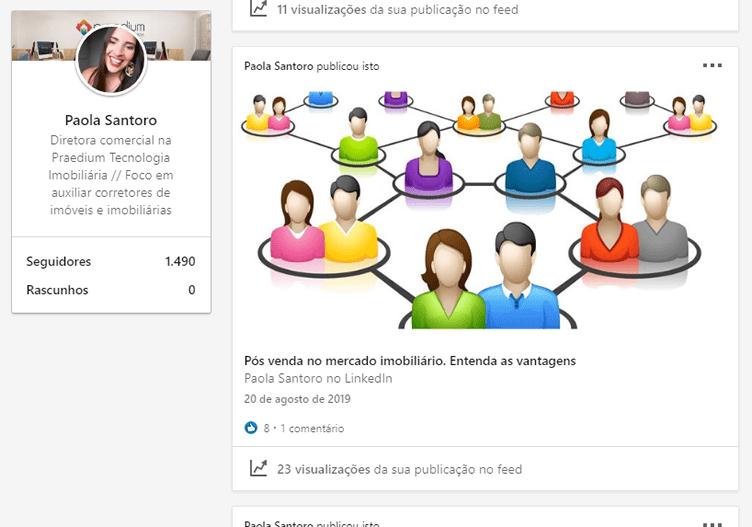 Linkedin Pulse para corretores de imóveis