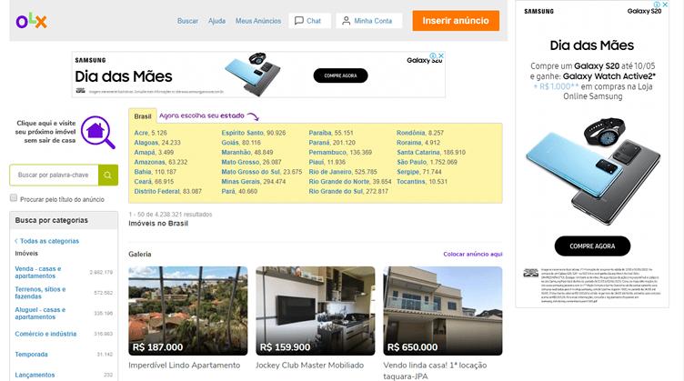 Melhores Sites para Anunciar Imóveis - OLX