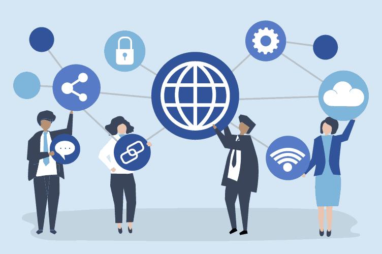 rede de contatos interligada para vender o imóvel