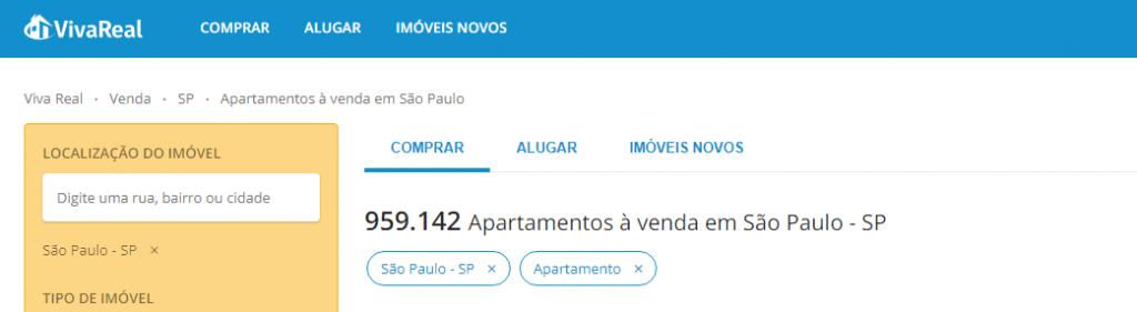 Os melhores sites de anúncio de imóveis em São Paulo - VivaReal