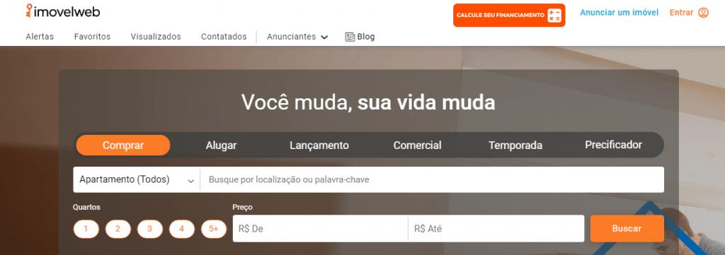 Sites de anúncio de imóveis em Recife