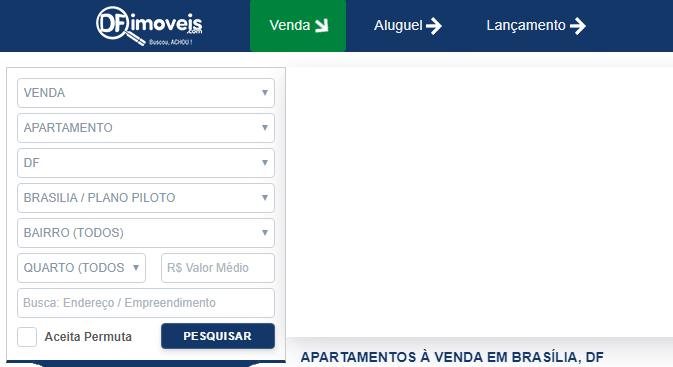 Sites de anúncio de imóveis em Brasília - DF imóveis
