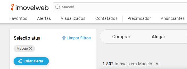 Sites de anúncio de imóveis em Maceió - Imóvel Web