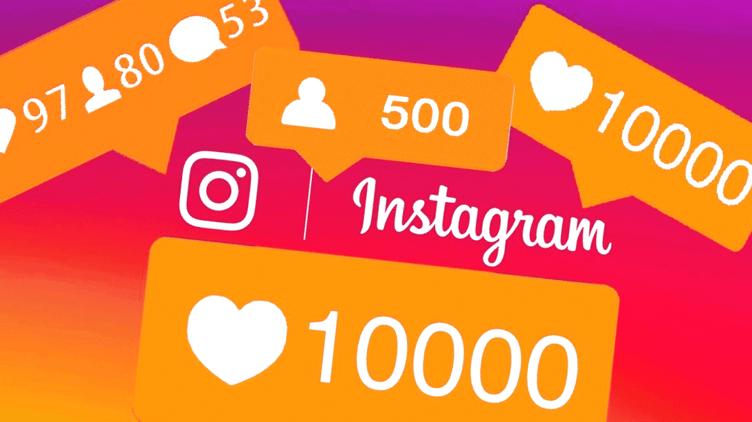 social media imobiliária para Instagram. com balões de curtidas e comentários.